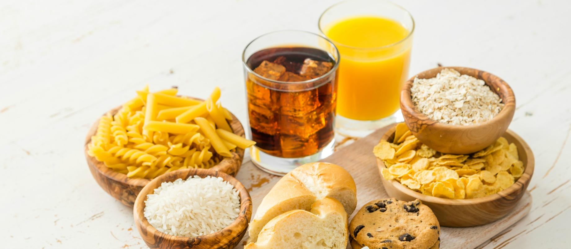 vezelrijk koolhydraatarm voedsel