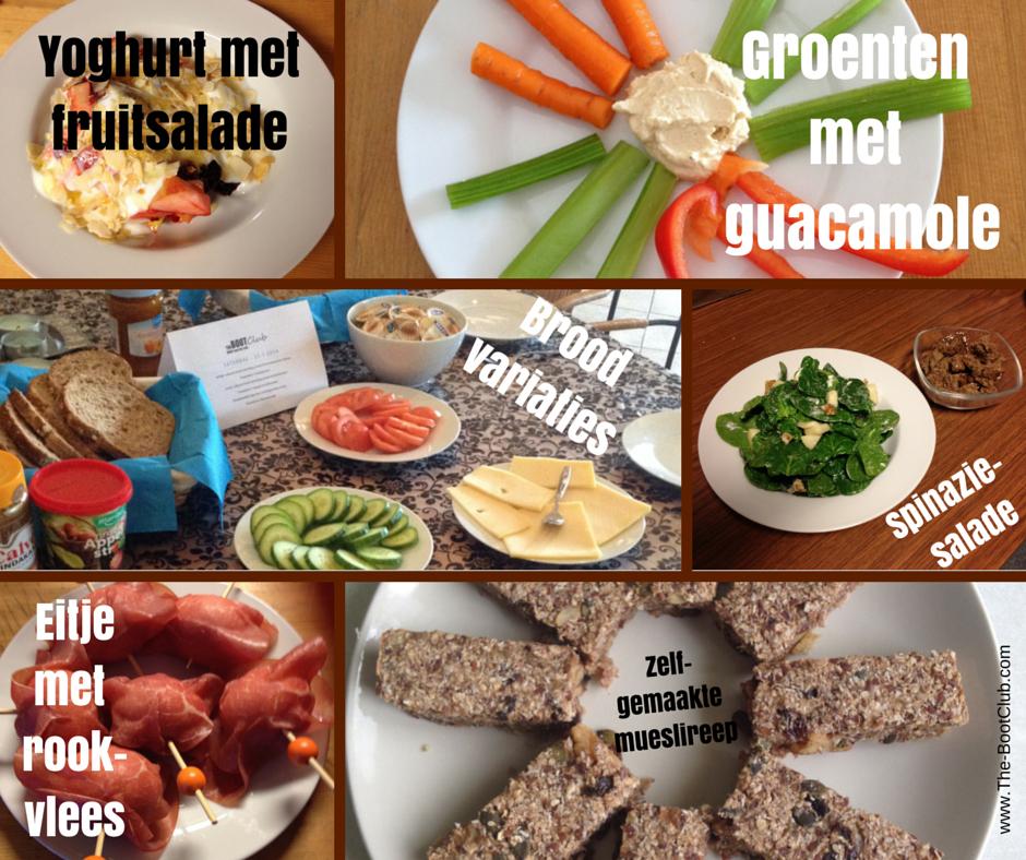 zelf voedingsschema maken afvallen